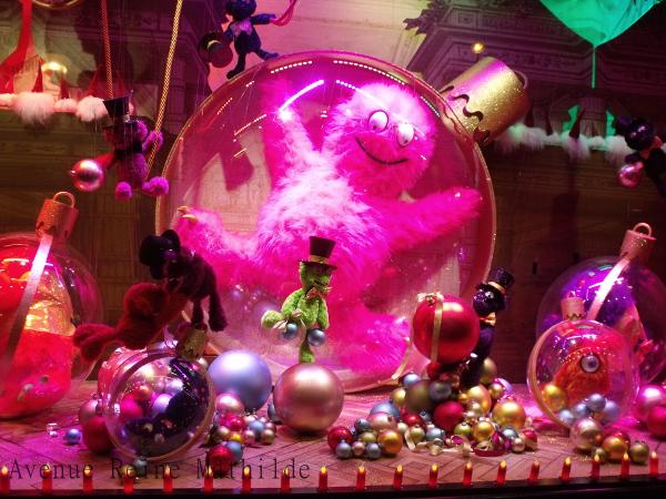 Paris et ses vitrines de no l version 2014 avenue reine mathilde - Vitrine noel galerie lafayette ...