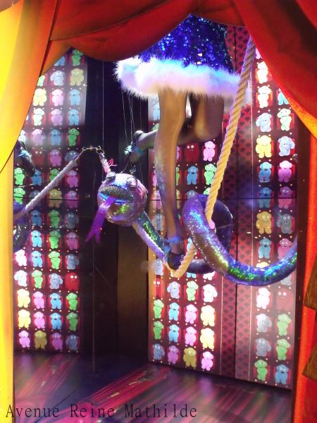 vitrines de Noël galerie Lafayette 2014 (3)