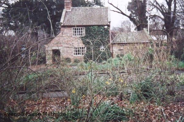 La maison des parents de James Cook reconstruite brique par brique telle qu'elle était en Angleterre.