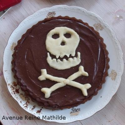 Gâteau apporté par l'un des invités qui remporta un franc succès.