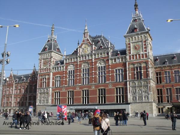 Amsterdam gare