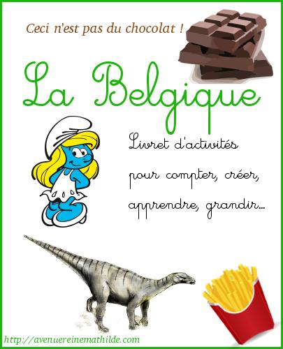 Livret activités pour maternelle sur la Belgique