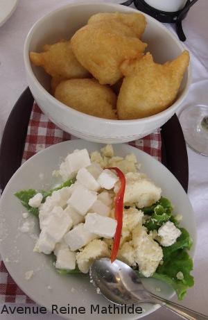 Dans un restaurant à Zagreb.