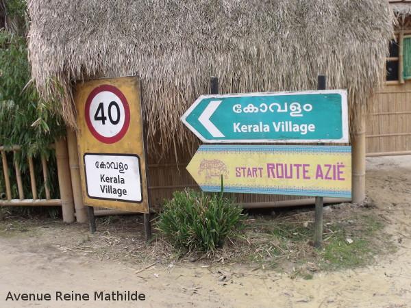 zoo malines village indien