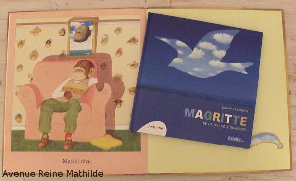 Marcel le rêveur et Magritte de l'autre côté du miroir