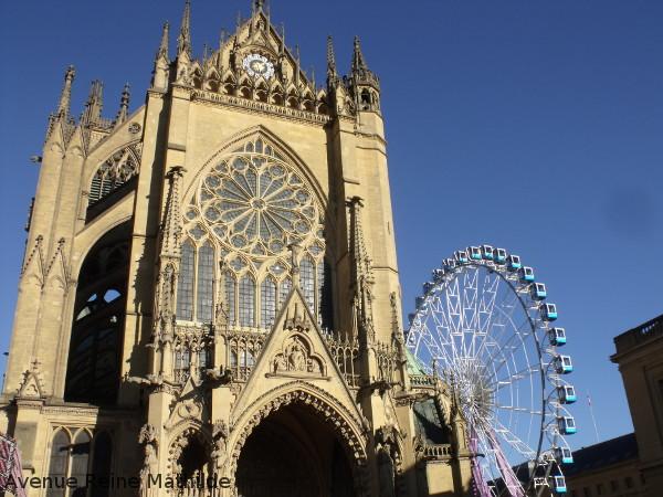 Entrée de la cathédrale de Metz