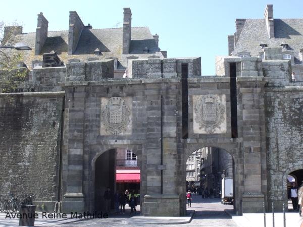 St Malo et ses remparts