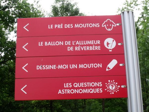 insolite en Alsace parc du petit prince