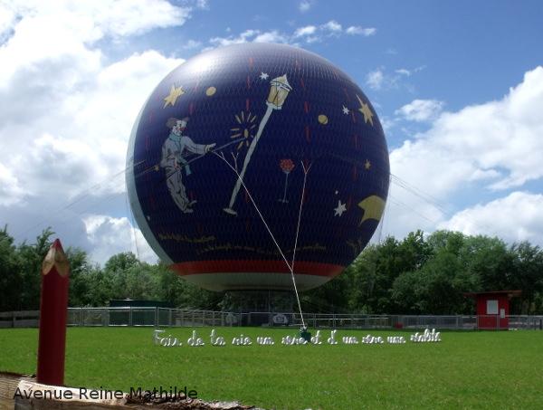 Montgolfière parc du petit prince