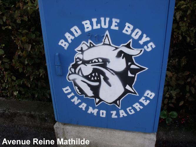 Le Dinamo Zagreb est le club de foot local.