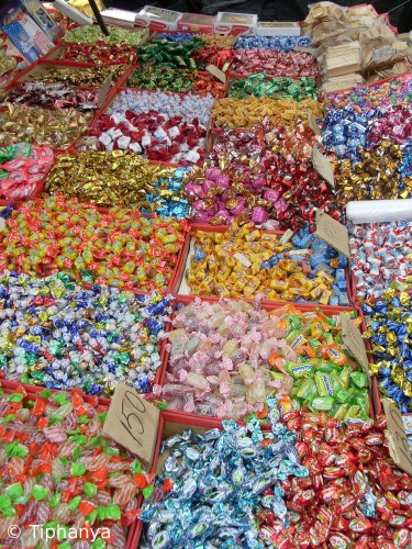 Les bonbons et les chocolats
