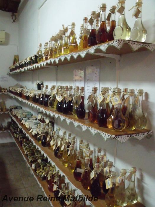 De l'alcool et du miel, et même un peu de miel dans l'alcool