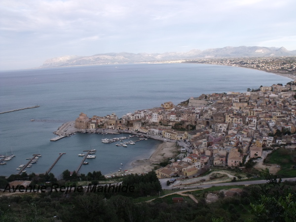 Vue sur Castellammare del Golfo - fév. 2014