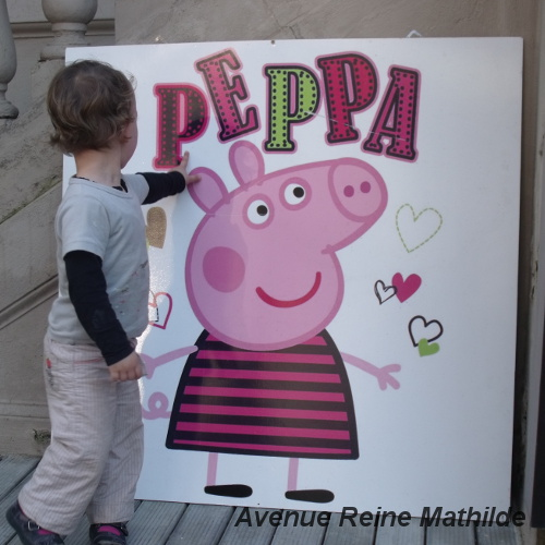 Croiser Peppa Pig dans les rues de Palerme...