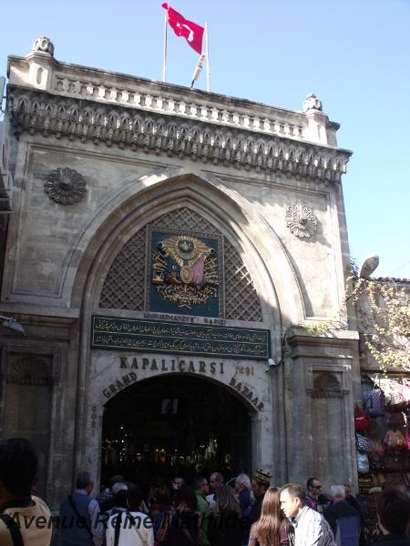 Séance shopping au Grand Bazar d'Istanbul (Turquie)