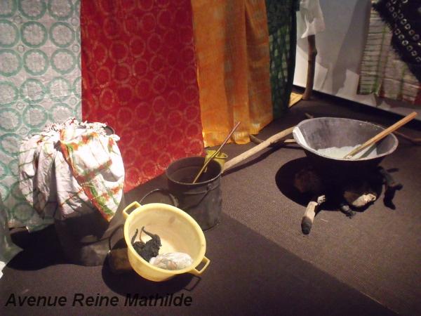 Exposition Tioup, tak, etc, couleurs textiles du Sénégal, Musée Bargoin - Clermont-Ferrand, mars 2014