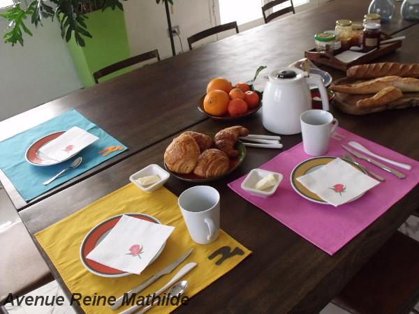 Le petit déjeuner à Dar el-Màa