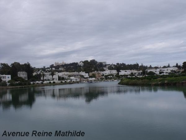 Port militaire punique de Carthage, juste avant l'arrivée de la pluie - mars 2014
