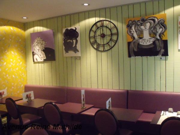 Le salon de thé le Kissaten - Clermont-Ferrand, mars 2014