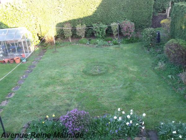 Le jardin à tondre de notre housesitting en Écosse - avril 2014