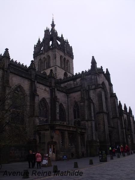 Cathédrale Saint Gilles, Édimbourg - avril 2014