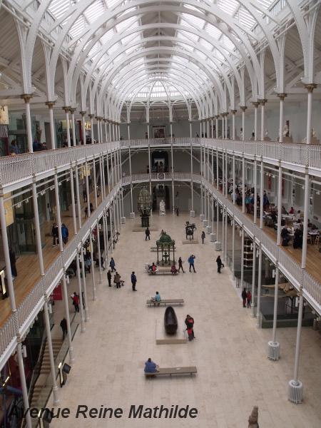 National Museums of Scotland, Édimbourg - avril 2014