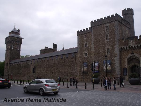 Le château de Cardiff - mai 2014