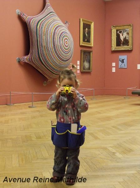 Ceinture à outils dans le meilleur musée à destination des familles : la Galerie d'Art de Manchester