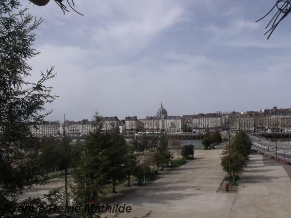 Nantes vue depuis les Machines de l'île - avril 2014