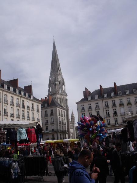 Basilique Saint Nicolas à Nantes - avril 2014