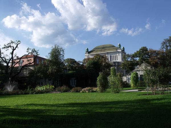 Le Jardin botanique de Zagreb - septembre 2013