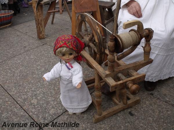 Présentation de métiers traditionnels au marché de Zagreb - zeptembre 2013
