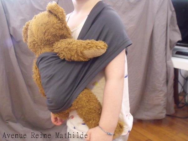 DIY   écharpe de portage pour poupée ⋆ 1175037b691
