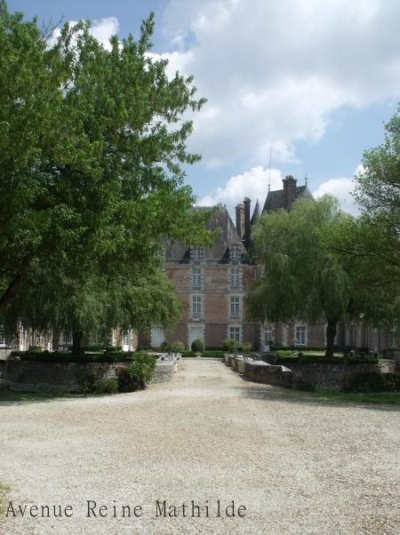 Château privé à Chateau-Renard - Loiret, juillet 2014