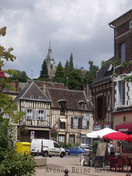 En plein coeur de Château-Renard - Loiret, juillet 2014