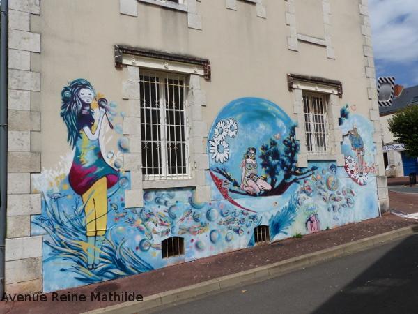 street art dans Briare Loiret