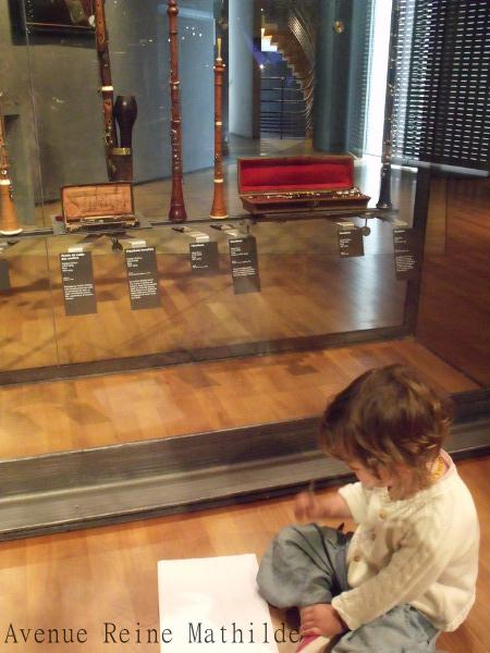 Dessin libre au musée de la musique.