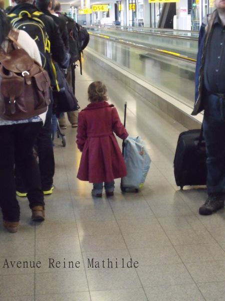 Escale à l'aéroport d'Amsterdam, mai 2014