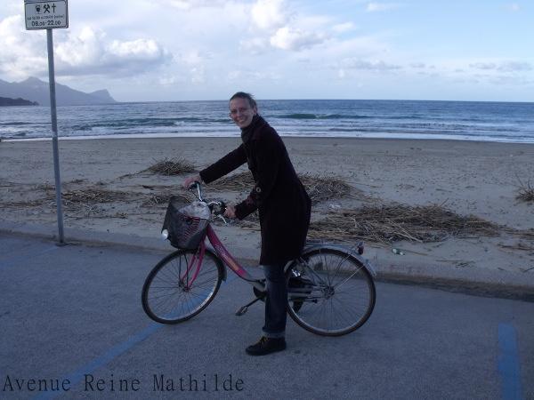 Faire du vélo en Sicile