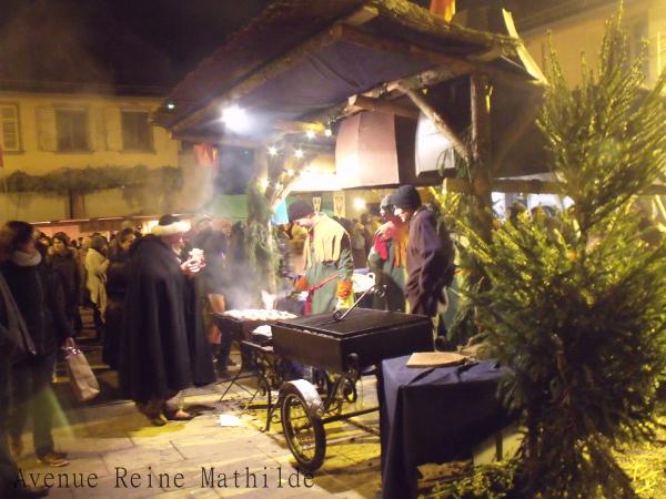 Marché de Noël médiévale de Ribeauvillé