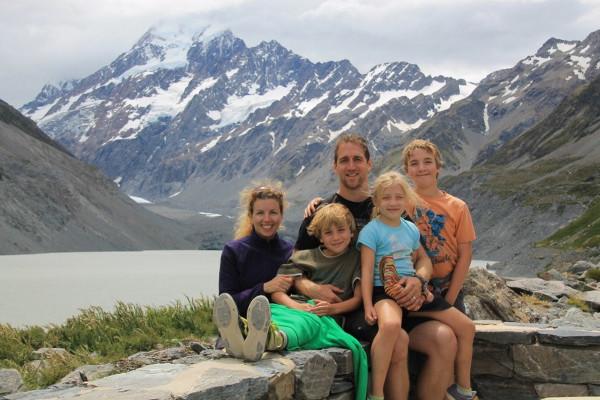 Mont Cook - Nouvelle-Zélande