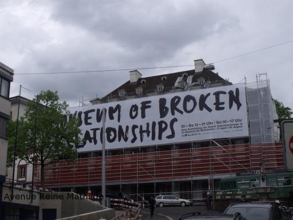 Museum of Broken Relationships à Bâle