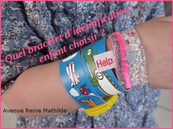 comparatif bracelet identification enfant