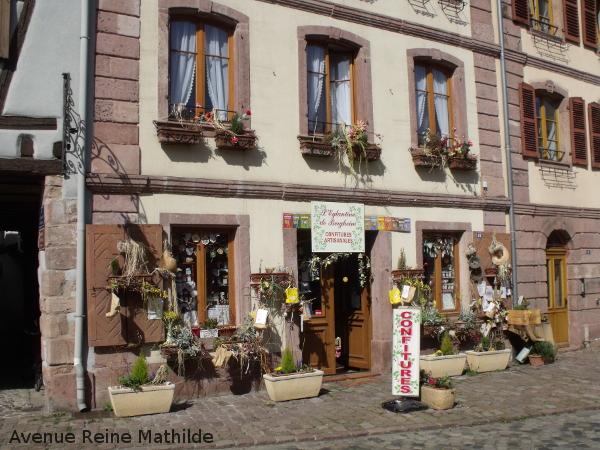 L'églantine de Bergheim, boutique de confitures artisanales.