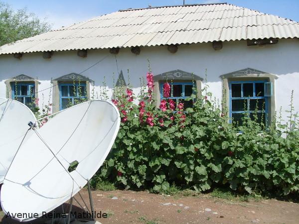 Mon troisième foyer, si soigné, si loin de toutes mes idées sur le Kirghizstan.