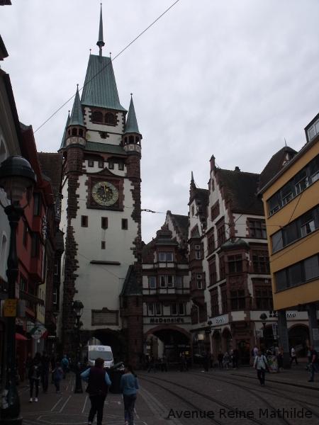 Centre ville de Freibourg en Allemagne
