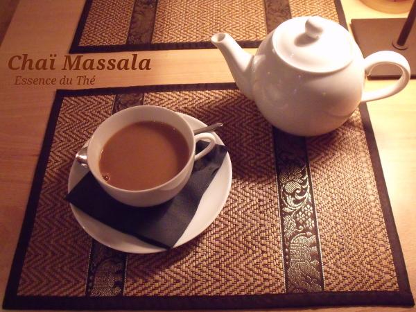 Dégustation en solo d'un bon thé épicé