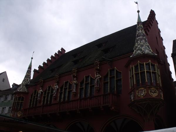 Fribourg maison des marchands