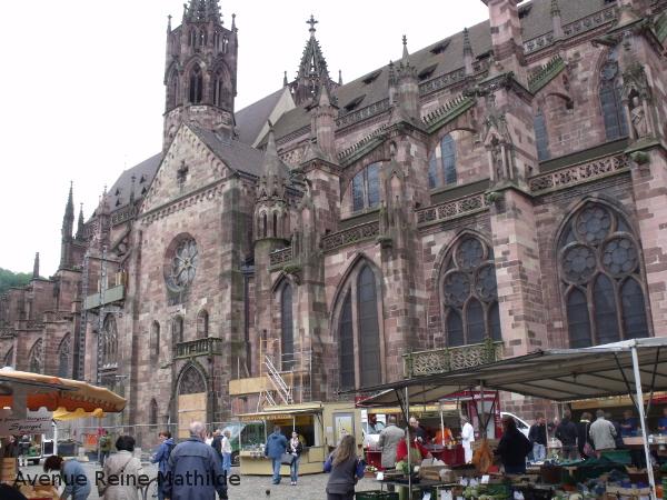 fribourg marché cathédrale