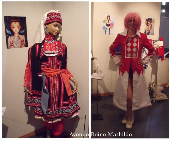 Quoi de mieux dans un musée dédié aux textiles que la possibilité de se costumer ?